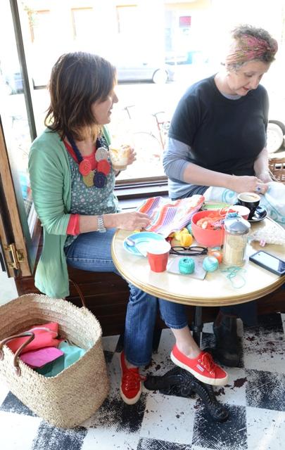 Cafe shot